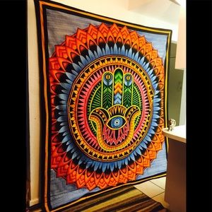 Humsa Tapestry Wall Hanging price firm!
